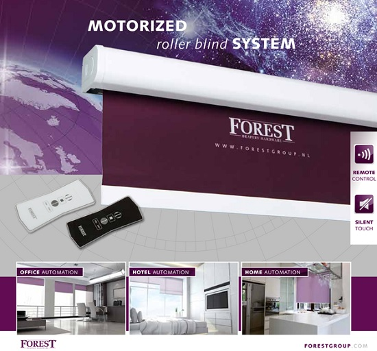 Động cơ rèm cuốn Forest