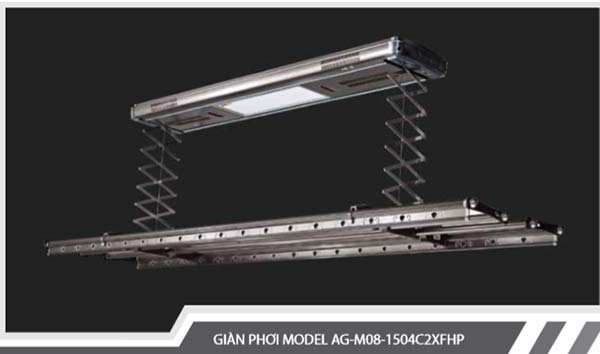 Giàn phơi tự động AG M08 1504C2XFHP