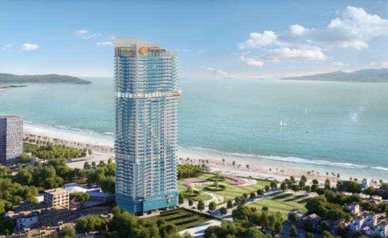 Dự án động cơ rèm tự động TMS Hotel Luxury Quy Nhơn
